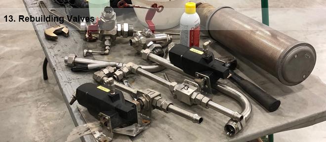 rebuilding valves 13