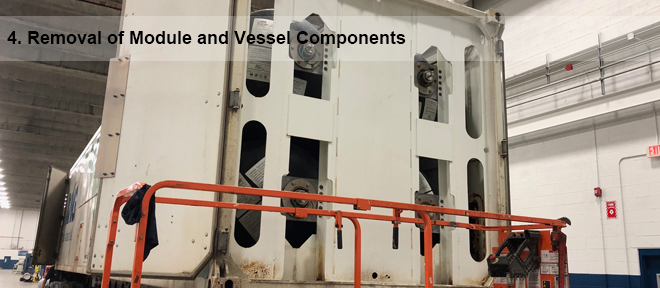 removal of module components 4