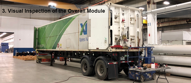 visual inspection of the titan cng trailer 3