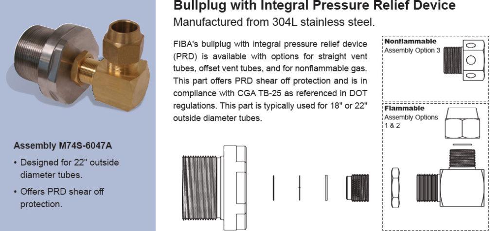 Bullplug Assemblies | FIBA Technologies, Inc