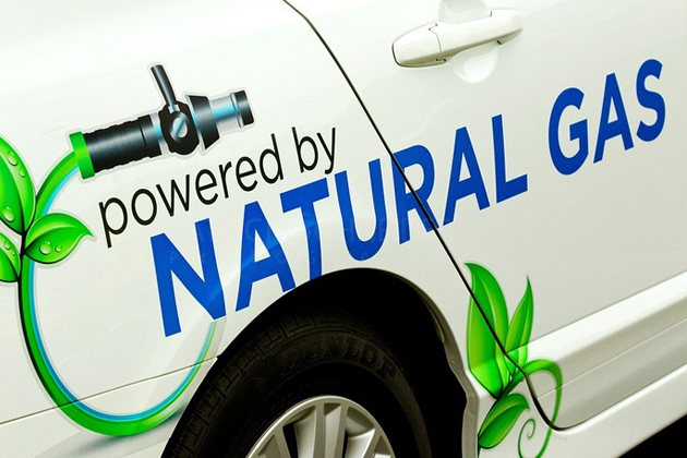 Vehicle Powered by Natural Gas